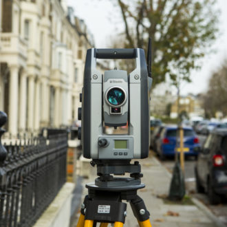 An S7 Total Staion For Topographical Surveys