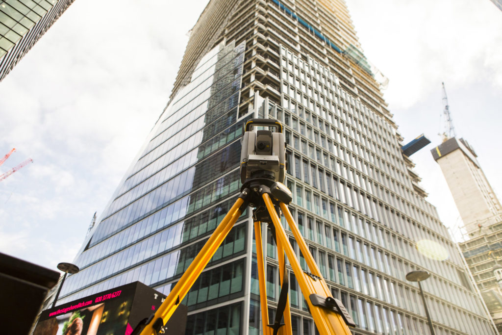 S7 Total Station Surveying A Building In London - About Us